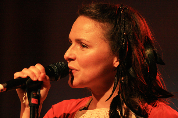 Emiliana Torrini at Loop Festival, Brighton July 2009